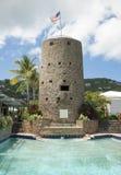 Castillo de las Islas Vírgenes Imagen de archivo
