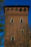Castillo de las tarjetas del día de San Valentín - Turín Foto de archivo libre de regalías