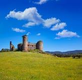 Castillo de las Torres castle by via de la Plata royalty free stock photos
