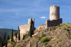 Castillo de Lastours 6 Imágenes de archivo libres de regalías