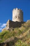 Castillo de Lastours 7 Imagen de archivo libre de regalías