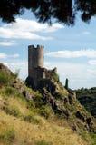 Castillo de Lastours 8 Foto de archivo libre de regalías