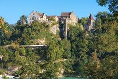 Castillo de Laufen Imagen de archivo libre de regalías