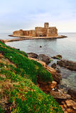 Castillo de Le castella Imagen de archivo libre de regalías