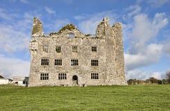 Castillo de Leamaneh en el condado Clare, Irlanda. Fotos de archivo