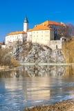 Castillo de Ledec nad Sazavou Fotografía de archivo