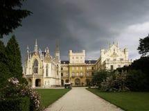 Castillo de Lednice Fotografía de archivo libre de regalías