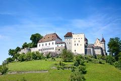 Castillo de Lenzburg Imágenes de archivo libres de regalías