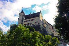Castillo de Lenzburg Foto de archivo
