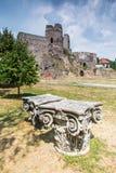Castillo de Levice en Eslovaquia Monumento viejo Imagen de archivo libre de regalías