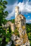 Castillo de Lichtenstein fotografía de archivo libre de regalías