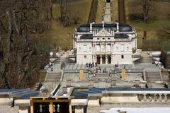 Castillo de Linderhof Fotografía de archivo libre de regalías