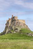 Castillo de Lindisfarne Foto de archivo