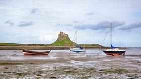 Castillo de Lindisfarne Imagen de archivo