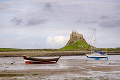 Castillo de Lindisfarne Fotografía de archivo