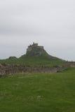 Castillo de Lindisfarne Imagenes de archivo