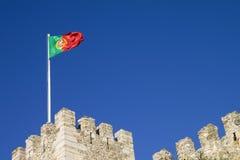 Castillo de Lisboa Foto de archivo