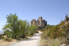 Castillo de Loarre Imagen de archivo libre de regalías