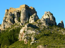 Castillo de Loarre, Huesca (Spain ) Stock Photo
