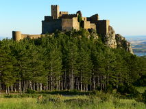 Castillo de Loarre , Huesca (Spain) Royalty Free Stock Photos