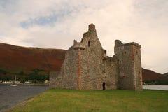 Castillo de Lochranza, isla de Arran imagen de archivo