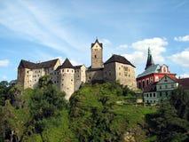 Castillo de Loket Fotografía de archivo libre de regalías