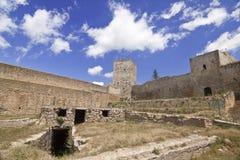 Castillo de Lombardía Imágenes de archivo libres de regalías