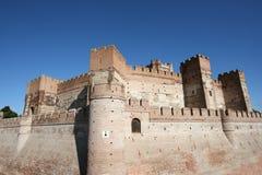 castillo De Los angeles Mota Fotografia Stock