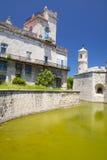 Castillo De Los angeles Real Fuerza, Stary Havana, Kuba zdjęcia stock