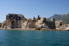 Castillo de los cruzados imagen de archivo