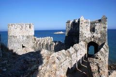 Castillo de los cruzados imagenes de archivo