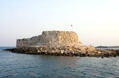 Castillo de los cruzados fotos de archivo