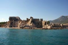 Castillo de los cruzados fotografía de archivo
