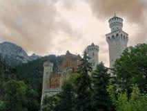 Castillo de los cuentos de hadas Fotografía de archivo