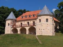 Castillo de los kÄ-s del ¡de NorviliÅ (Lituania) Foto de archivo