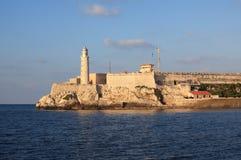 Castillo de los Tres Reyes del Morro. In Havana. Cuba Royalty Free Stock Photos