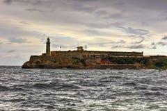 Castillo de los Tres Reyes del Morro Stock Images