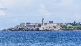 Castillo de Los Tres Reyes del Morro ist eine Festung auf Kubaner Havana lizenzfreies stockbild