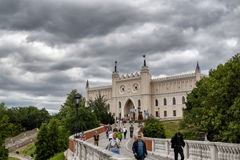Castillo de Lublin Imagen de archivo