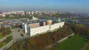 Castillo de Lublin, Polonia, 04 2017, cantidad aérea