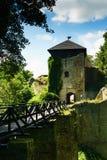 Castillo de Lukov imagenes de archivo