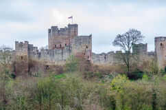 Castillo de Lulow, Shropshire, Gran Bretaña Imagen de archivo