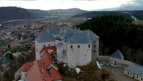 Castillo de Lupca almacen de video