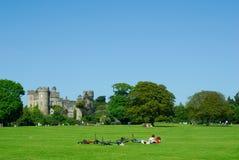 Castillo de Malahide, Dublín, Irlanda Foto de archivo libre de regalías