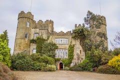 Castillo de Malahide en Irlanda Fotografía de archivo