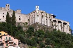 Castillo de Malaspina de Massa Imagenes de archivo