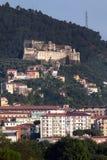 Castillo de Malaspina de Massa Imágenes de archivo libres de regalías
