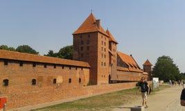 Castillo de Malbork Foto de archivo