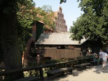 Castillo de Malbork Fotos de archivo