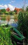 Castillo de Malbork, Polonia imagen de archivo libre de regalías